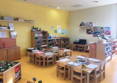sala pre escolar